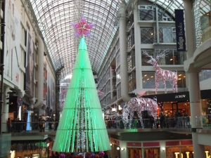 Christmas Tree at Eaton Centre